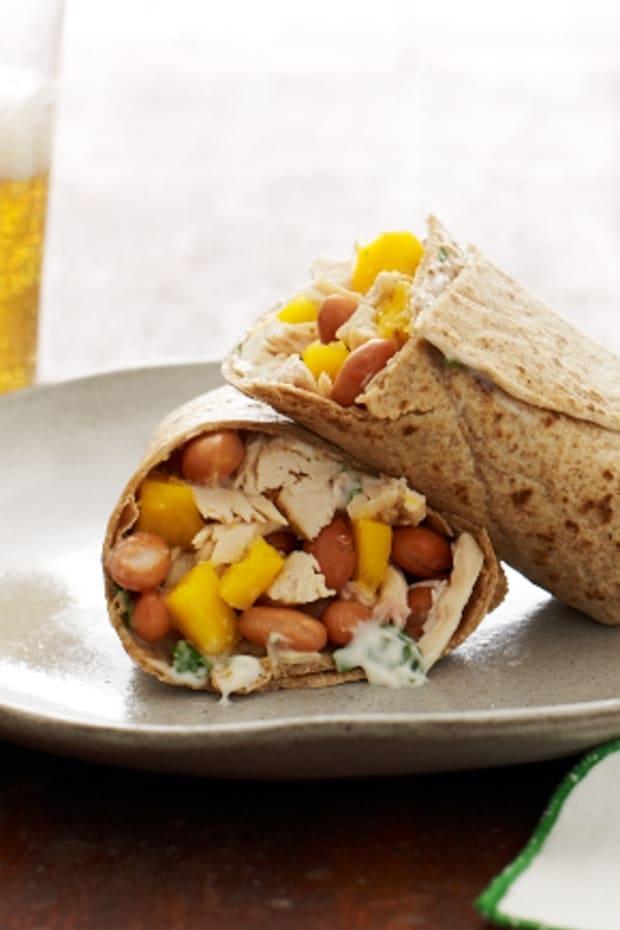Tropical Chicken Burrito