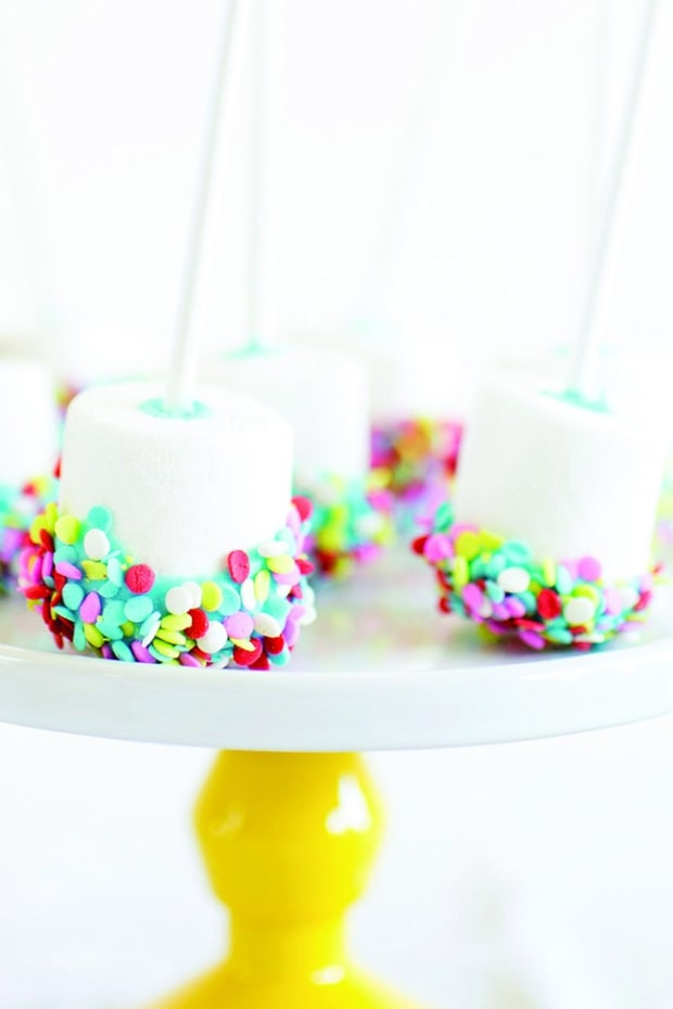 Confetti Marshmallow Pops wide