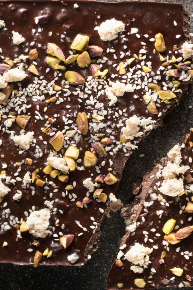 Halva Chocolate Bark