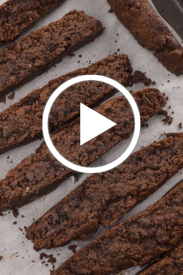 Double Chocolate Mandel Bread video