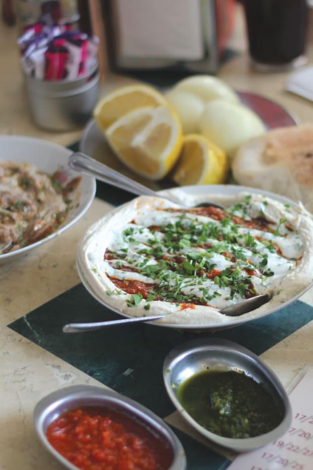 Shakshuka Hummus