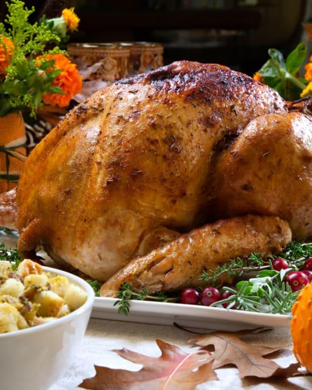 southern roast turkey with bourbon peach glaze