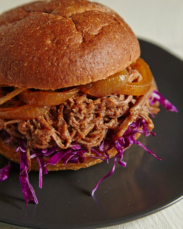 Pulled Brisket Burger