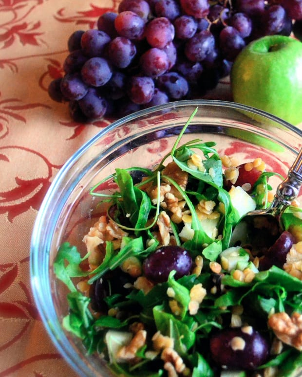 Rustic Grape Salad