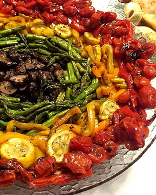 Rainbow Veggie Platter
