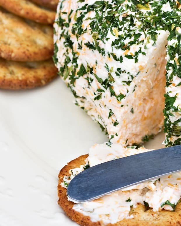 smoked white fish cheese ball