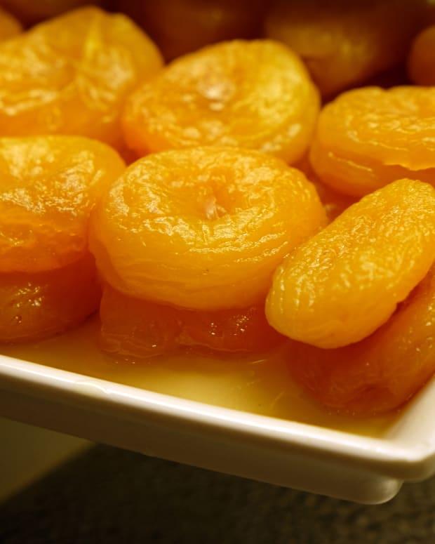 glazed apricots