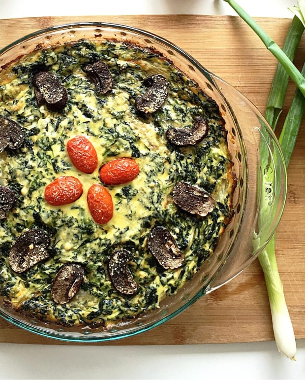 Spinach and Ricotta Quiche