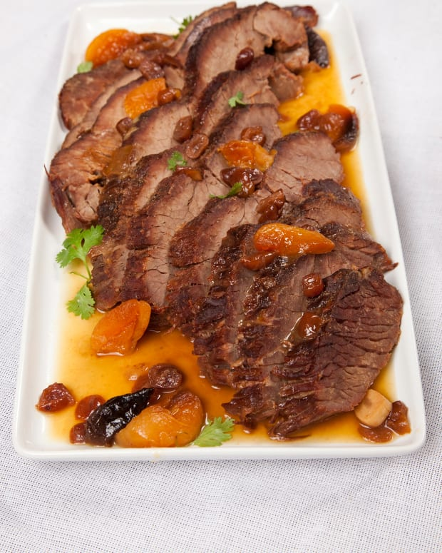 Brisket with Fall Fruits
