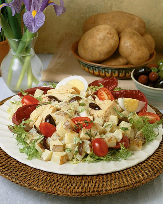 Idaho potato nicoise salad