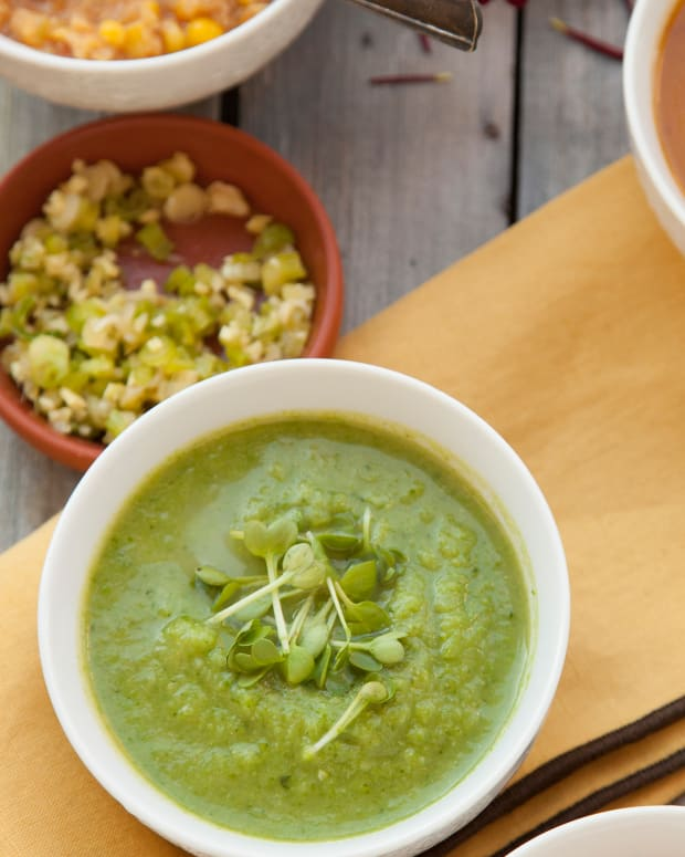 Vegan Broccoli Soup Pg. 27