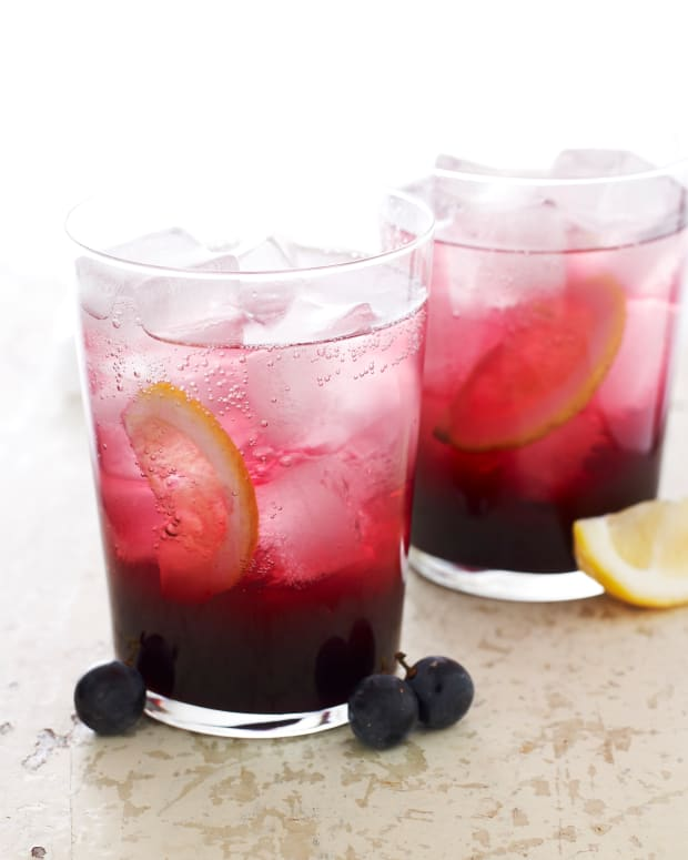 grape juice fizz