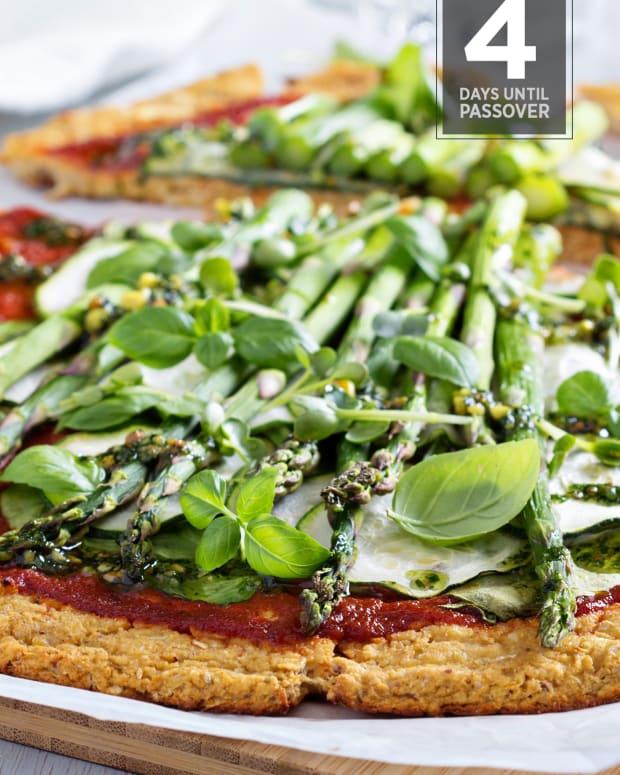 Quinoa pizza passover countdown