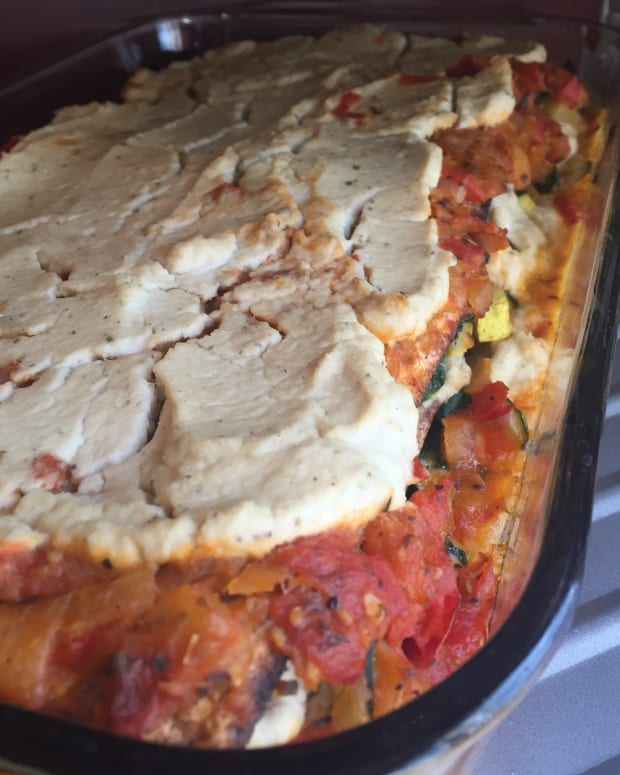 HEARTY VEGAN MATZAH LASAGNA