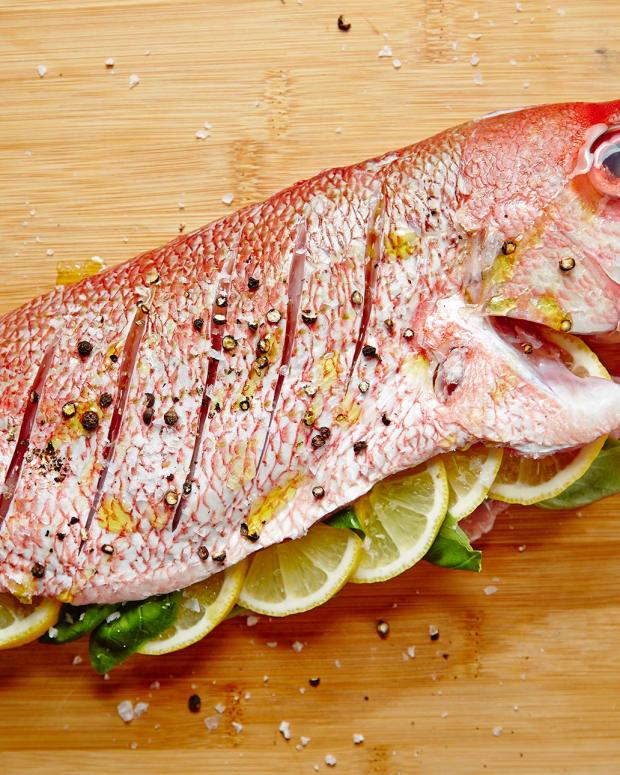 ROASTED WHOLE FISH