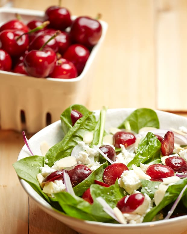 Roasted Cherry and Feta Salad