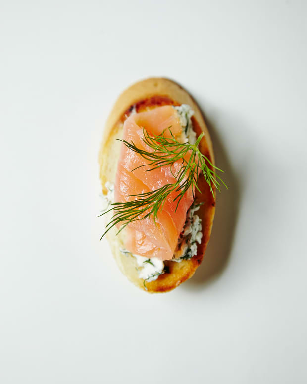 SMOKED SALMON AND DILL