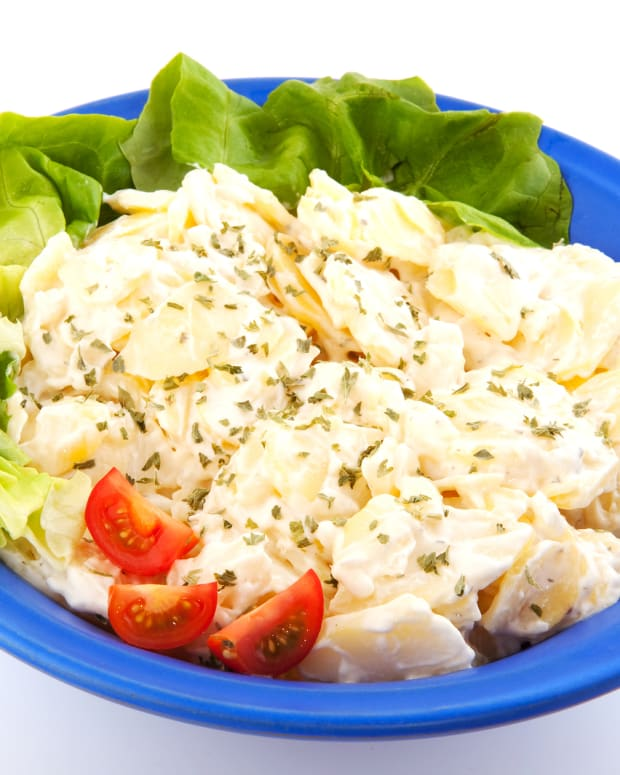 low fat dijon potato salad