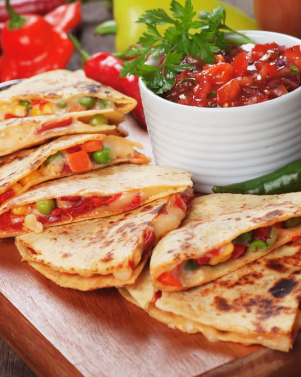 quick quesadillas