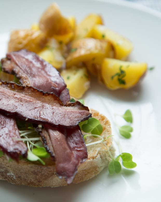 Kosher Duck Bacon