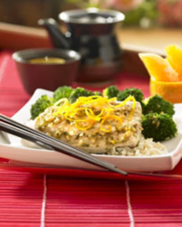 Pan-Asian Orange Poached Fish