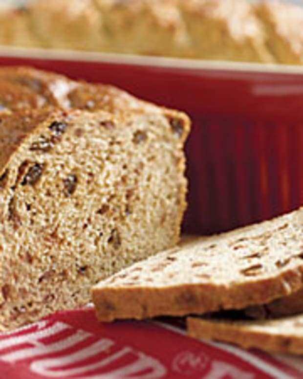 Apple Barley Bread