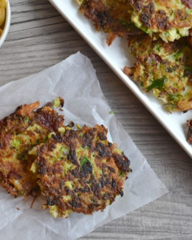 Brussels Sprout Latkes