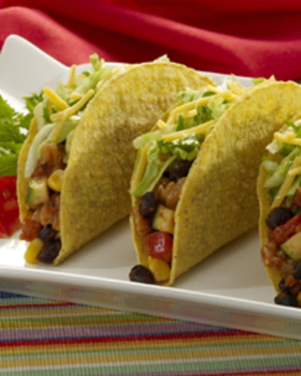 Walnut Veggie Tacos