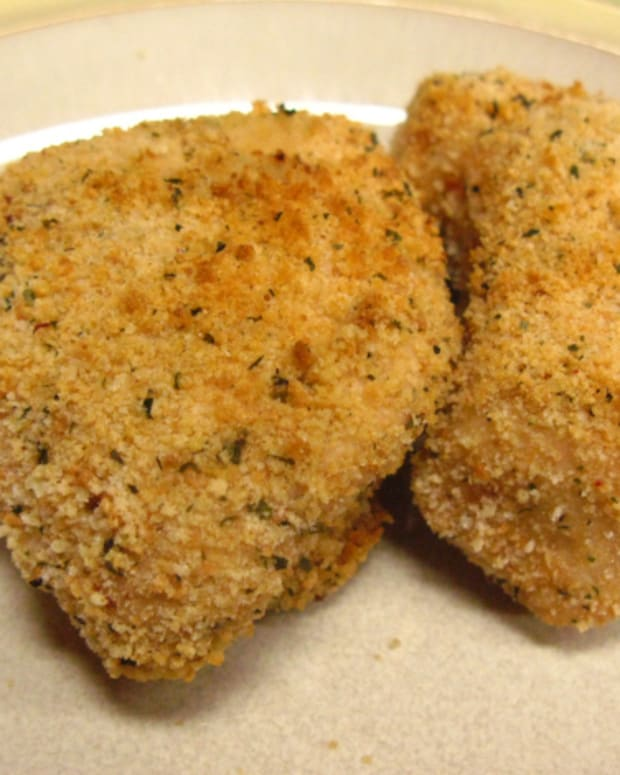 lemon breaded chicken