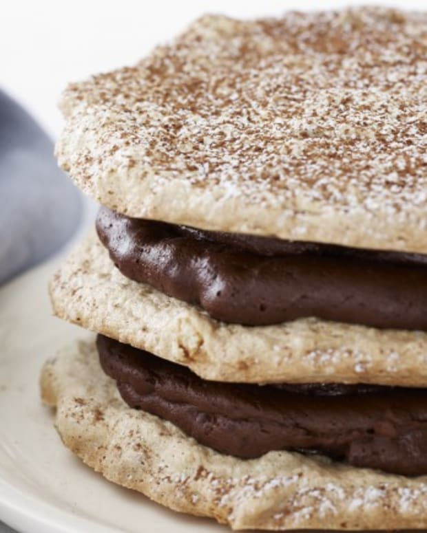 Mixed Nut Chocolate Torte