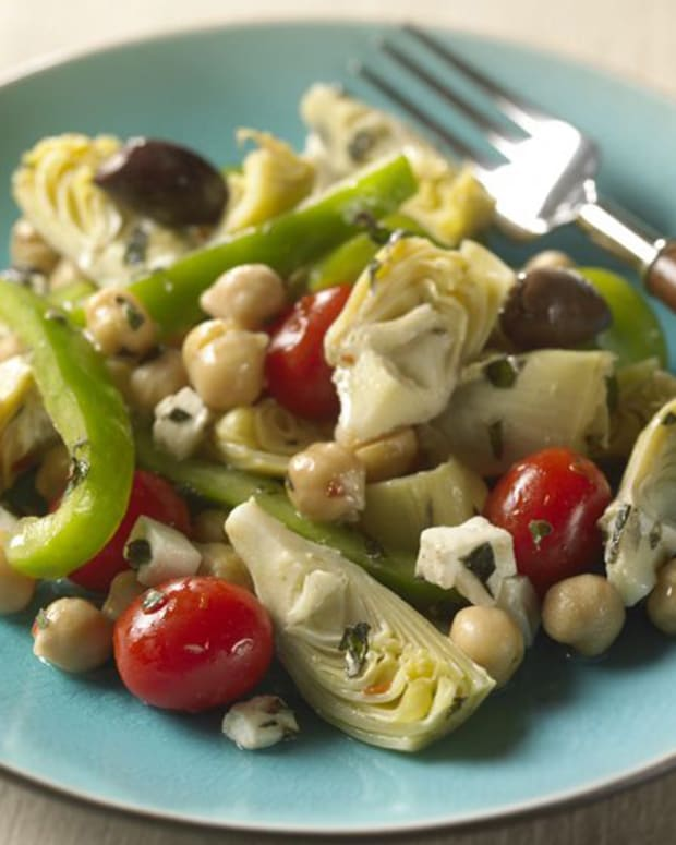 Marinated Italian Vegetable Toss