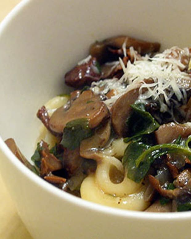 Pasta with Wild Mushrooms