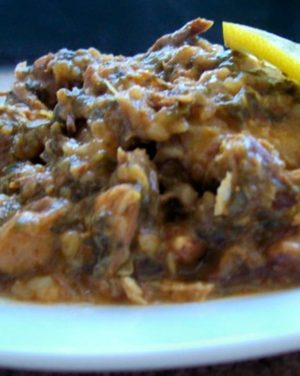 Lemon Lamb Cholent