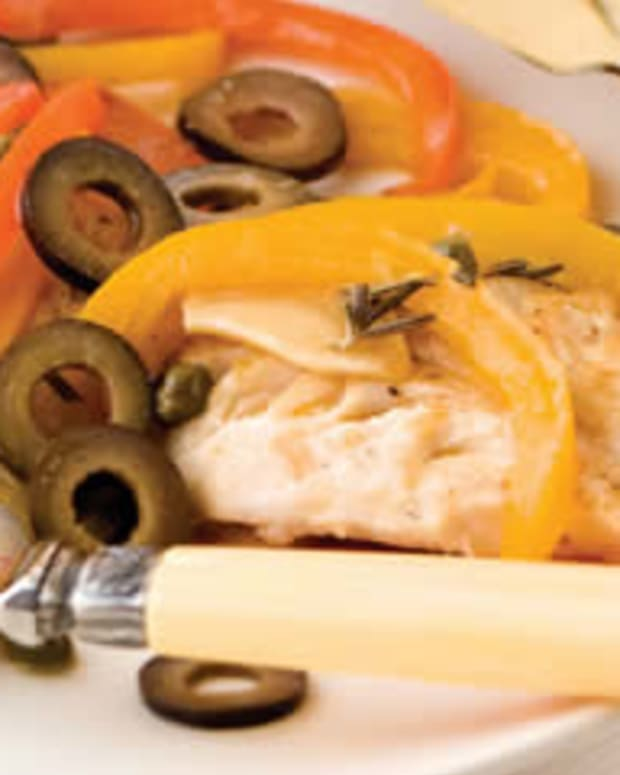 Olive Snapper Escabeche
