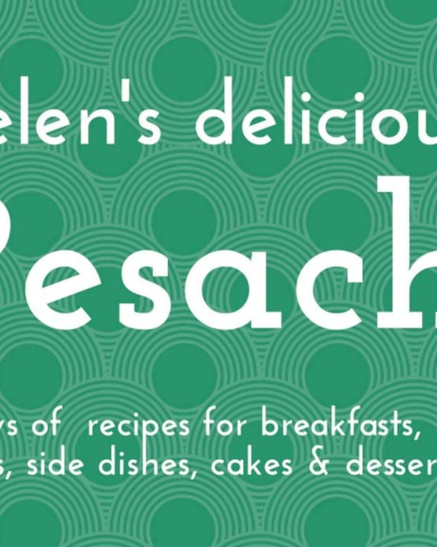 Helen's delicious Pesach