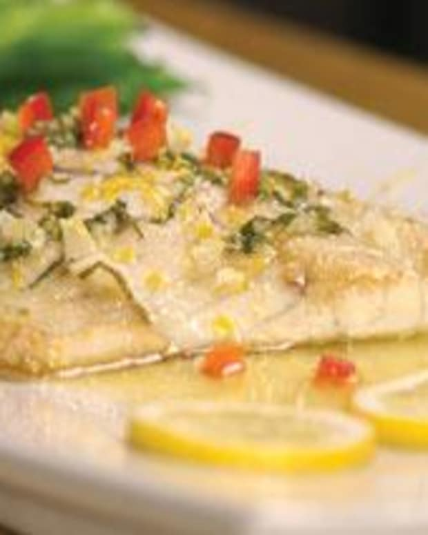 Lemon Butter Barramundi