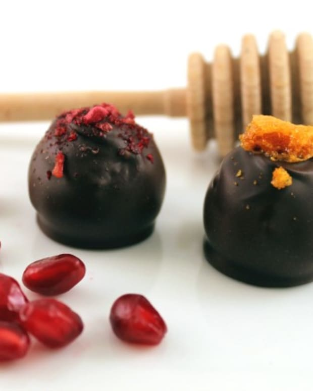 Jewish New Year Chocolate Truffles