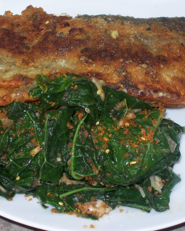 Spicy Tuscan Kale