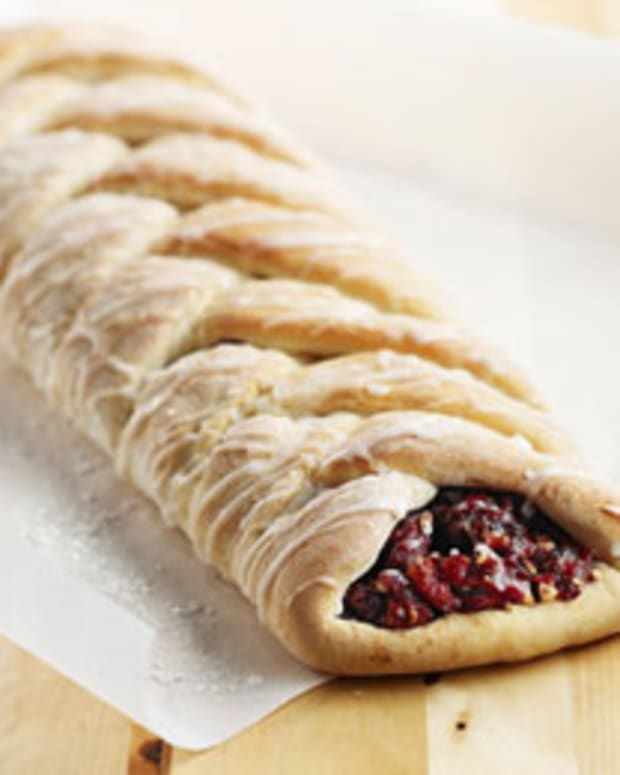 Cranberry Coffee Braid