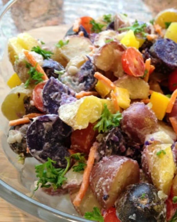 Colorful Potato Salad
