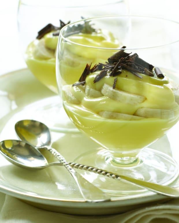 banana chocolate parfait