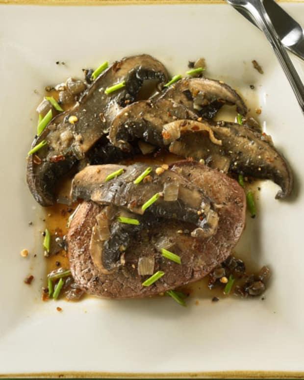 Beef Steak and Portobellos with Marsala Sauce