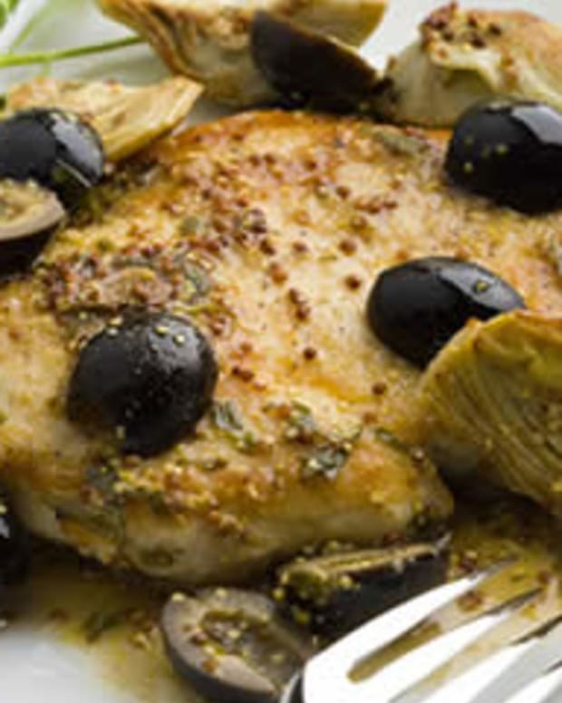 Dijon Sautéed Chicken
