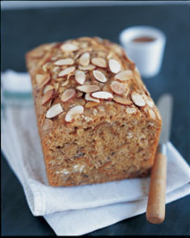 Oat Bran & Almond Bread