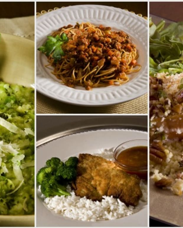 4 quick dinners