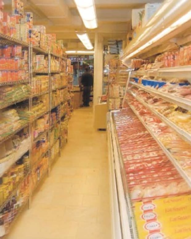 supermarket aisle finding foods in israel