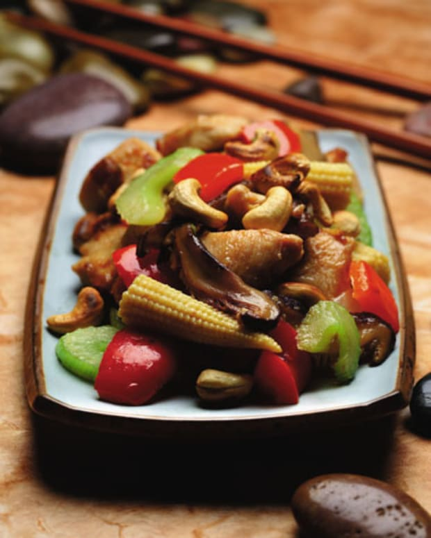 Chicken With Ginger and Cashews