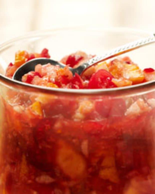 Sweet-Tart Cranberry Chutney