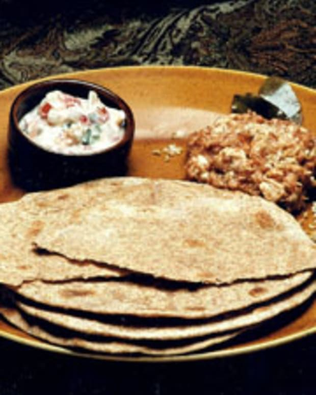 Whole Wheat Chapattis