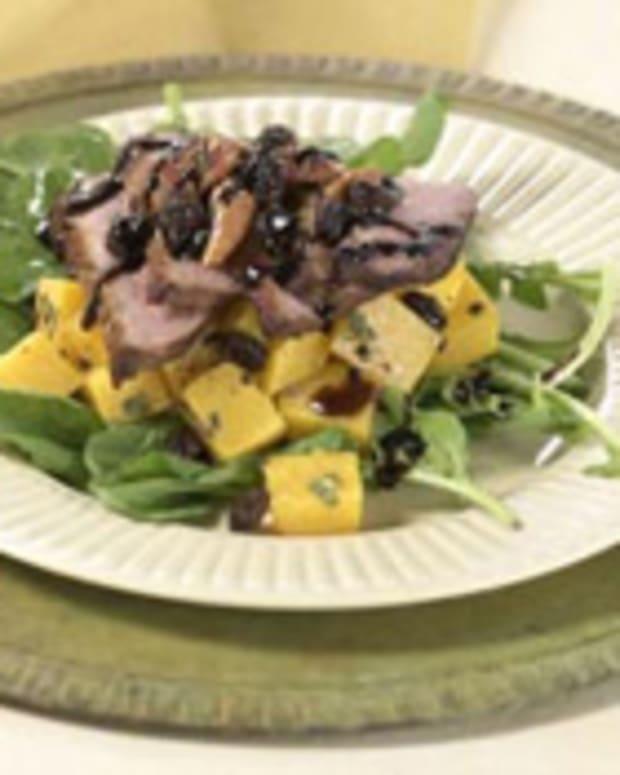 Butternut Balsamic Duck Salad